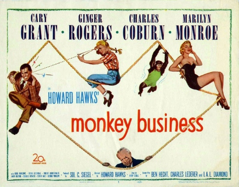 Poster - Monkey Business (1952)_02