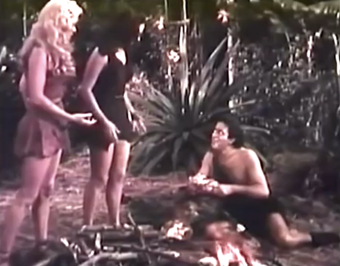 Prehistoric Women Engor discovers fire