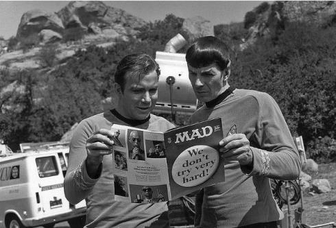 Shatner and Nimoy